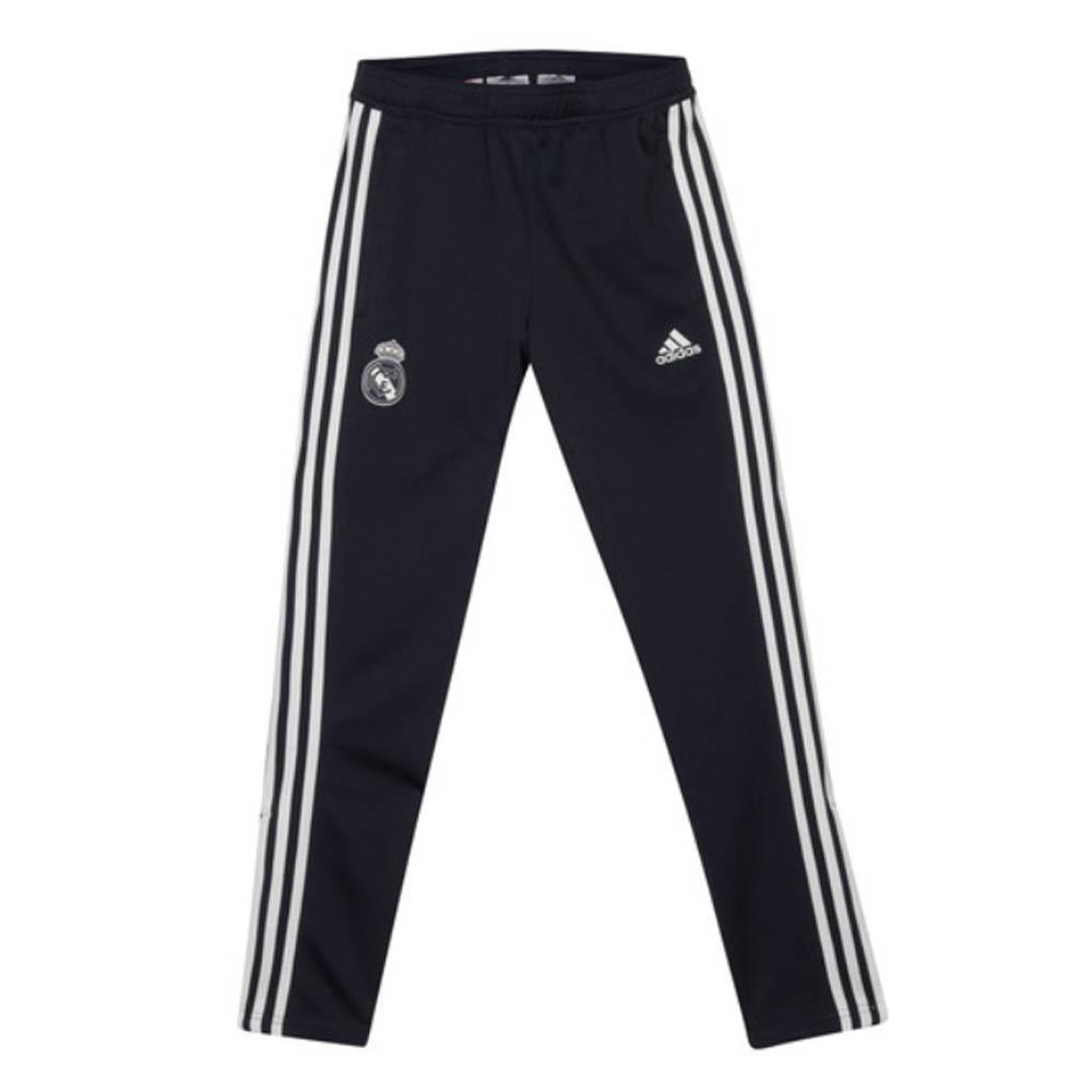 2018 2019 Real Madrid Adidas Training Pants (Dark Grey) Kids