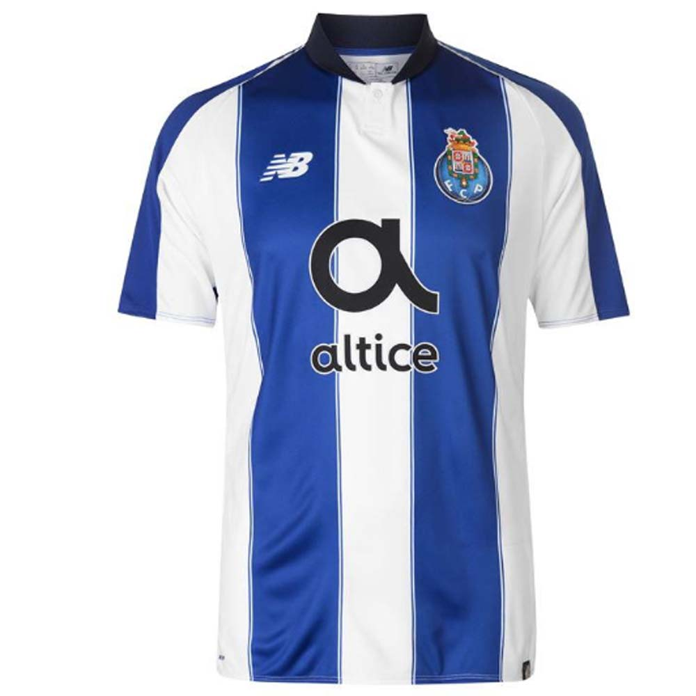 best loved 2bd77 e1043 2018-2019 FC Porto Home Football Shirt