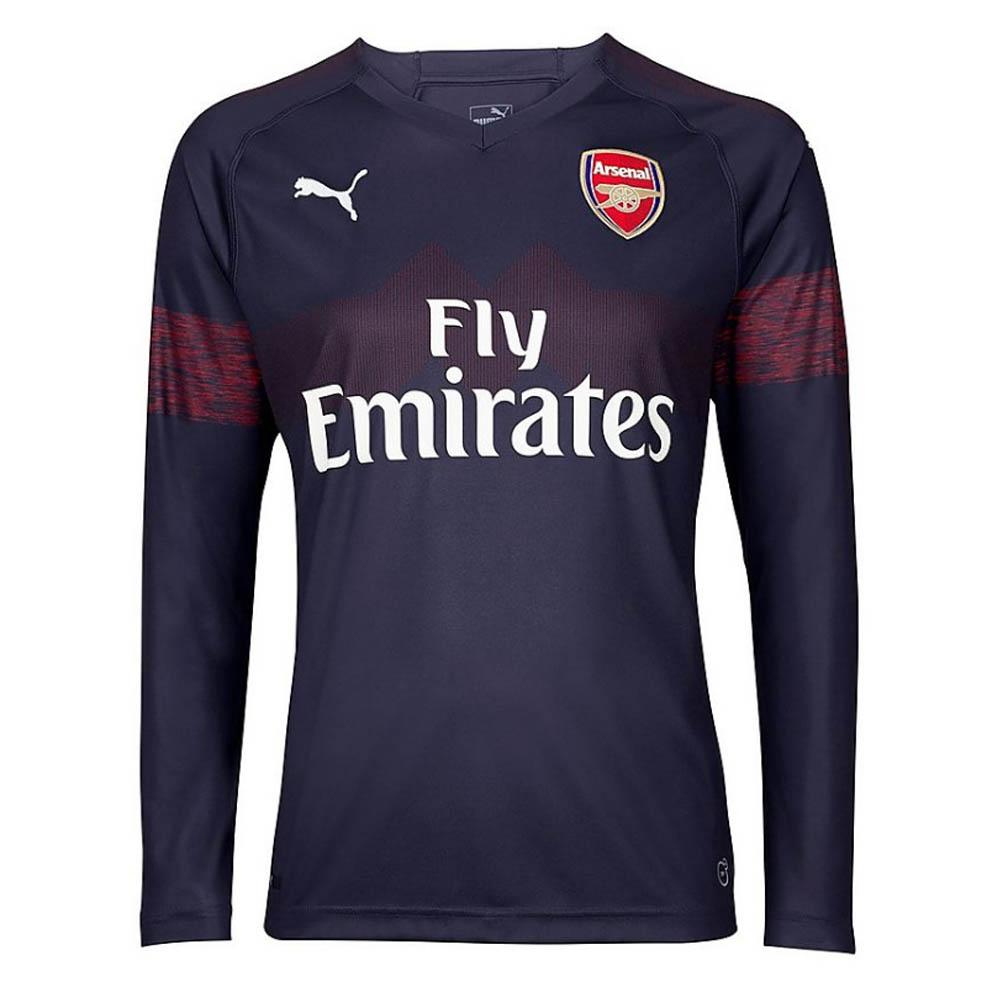 uk availability 9fa2f 42e1c 2018-2019 Arsenal Puma Away Long Sleeve Shirt