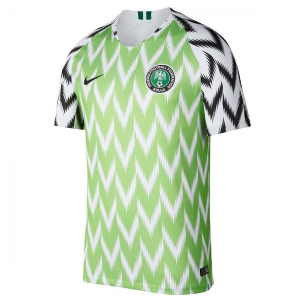 2018-2019 Nigeria Home Nike Football Shirt