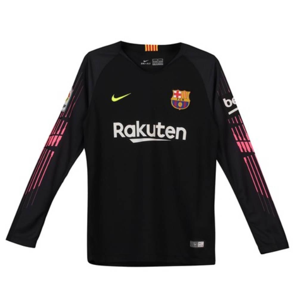 Nike Barcelona Kids LS Goalkeeper Home Shirt 2018 19  88e6c5c6c