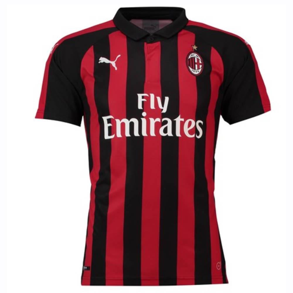 2018 2019 AC Milan Puma Home Football Shirt (Big Sizes)