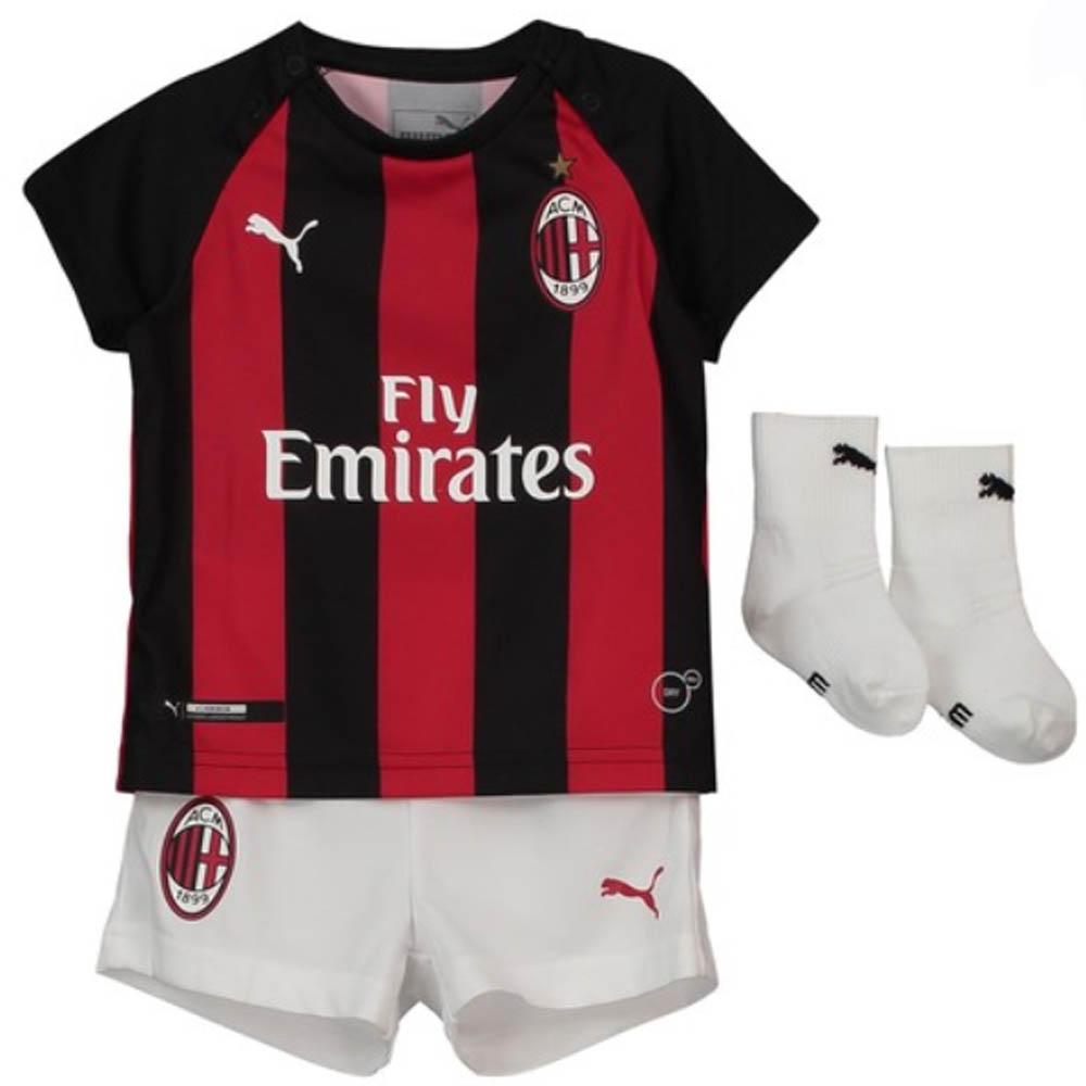 Puma Ac Milan Baby Ss Home Mini Kit 2018 19 Footy Com