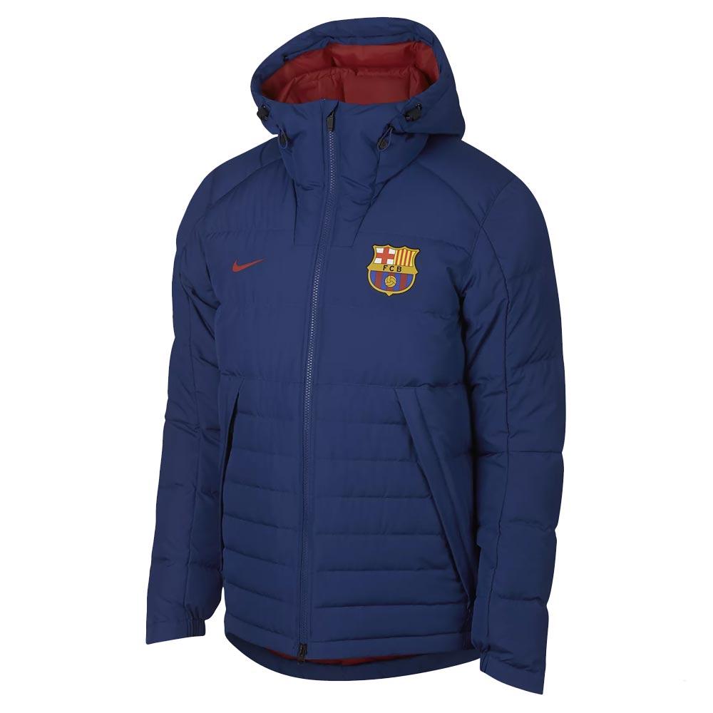 eee4265582a3 2018-2019 Barcelona Nike Down Fill Jacket (Royal Blue)  AH7322-455  -  Uksoccershop