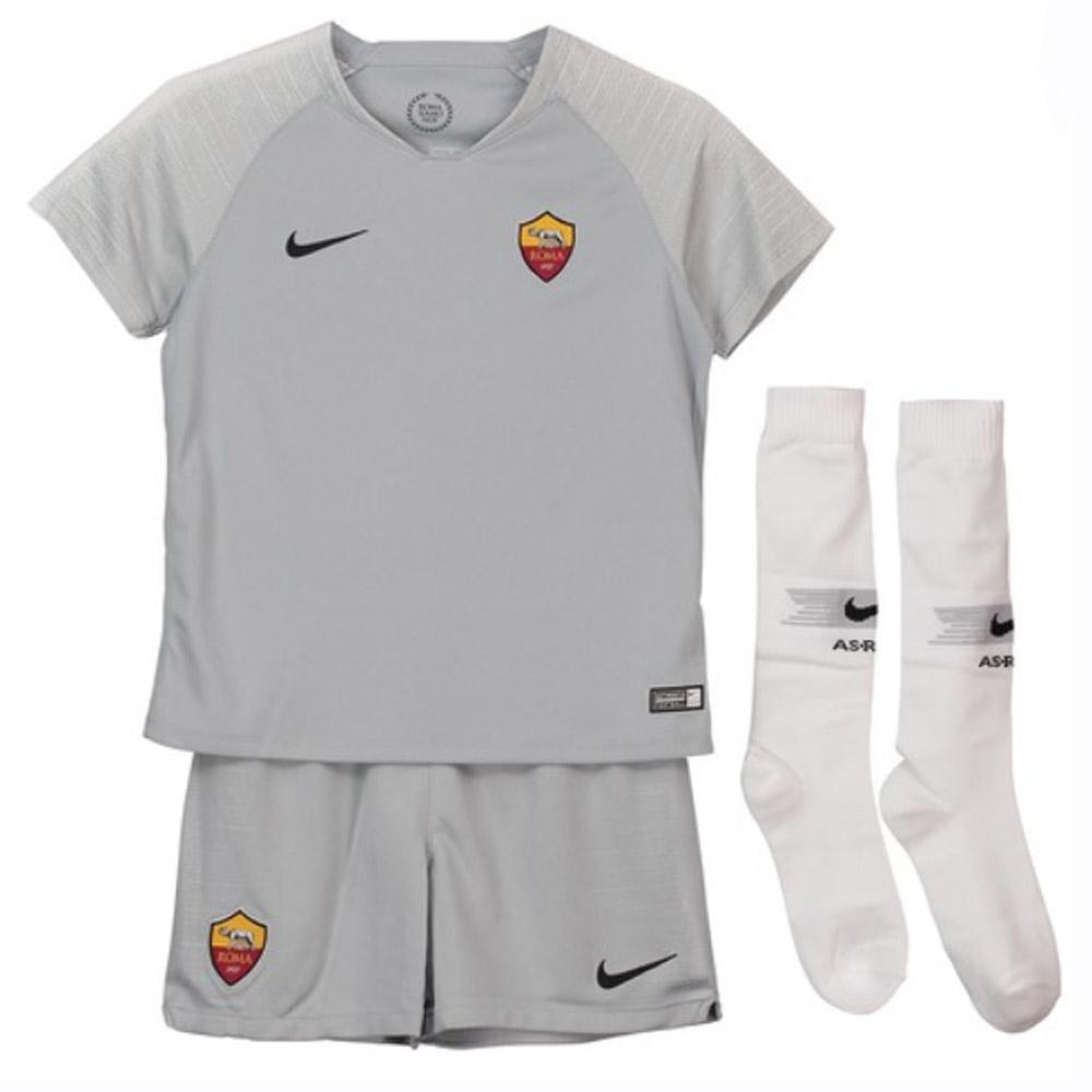 separation shoes 41695 b0979 2018-2019 AS Roma Away Nike Little Boys Mini Kit