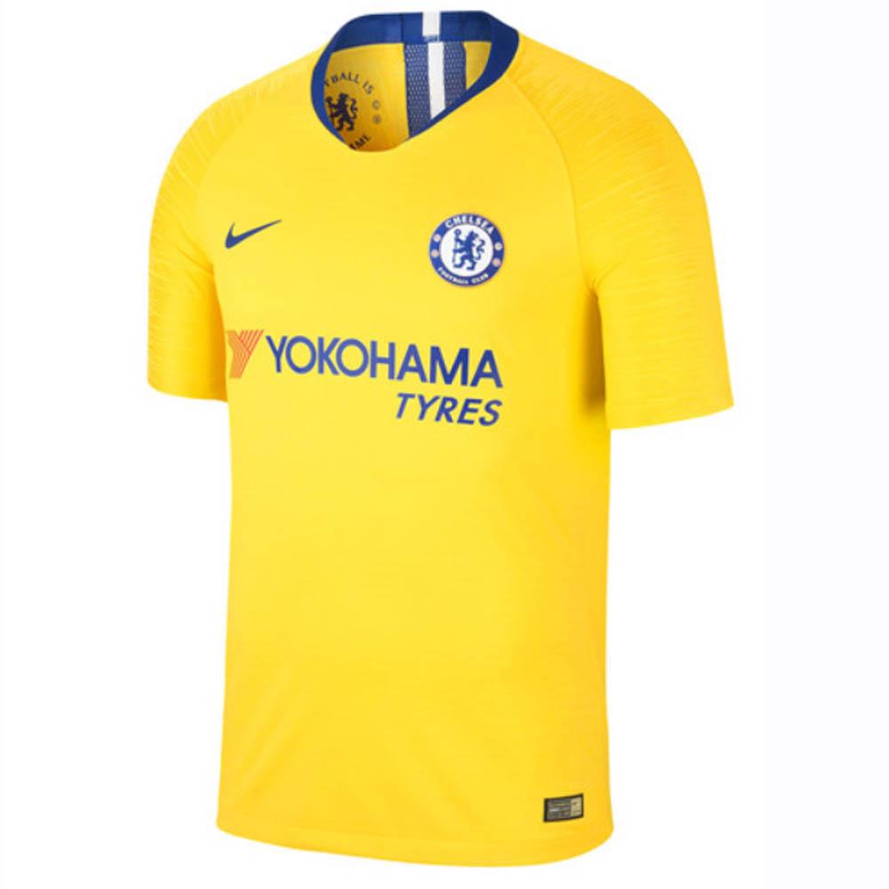 new arrival 82108 3d0b1 2018-2019 Chelsea Nike Vapor Away Match Shirt