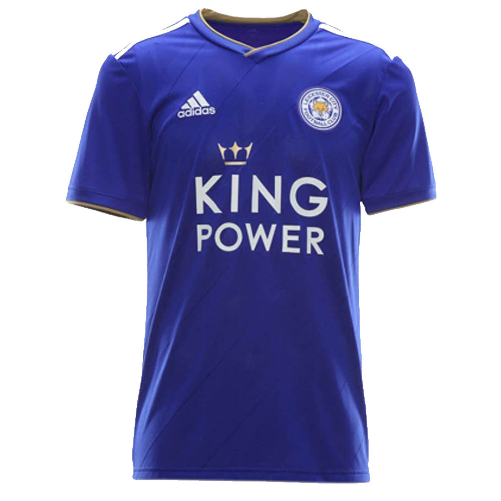 láser Matón alumno  2018-2019 Leicester City Adidas Home Football Shirt [DM3413] - Uksoccershop