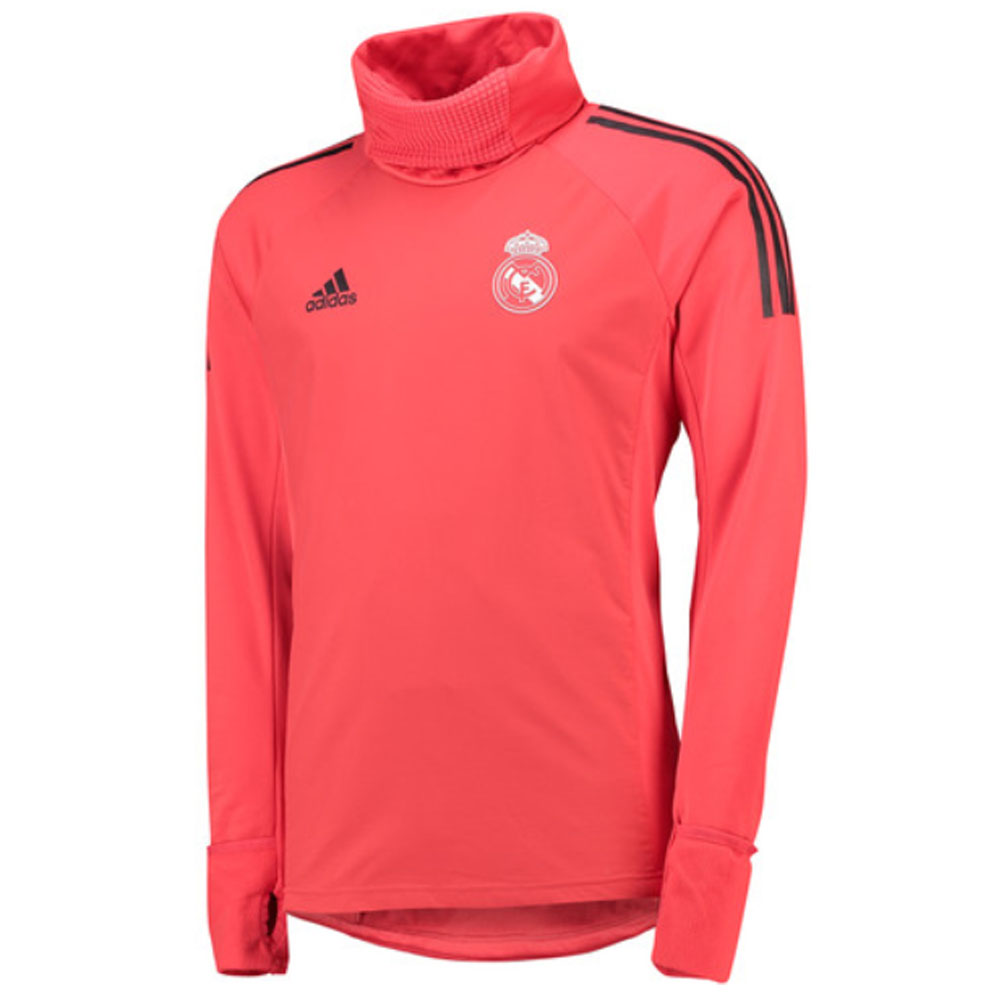 best sneakers a45e7 8c97f 2018-2019 Real Madrid Adidas UCL Warm Up Top (Red)