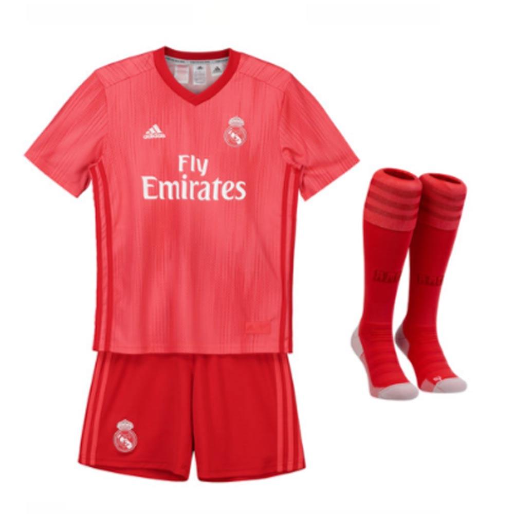 reputable site 5d9a2 612a0 2018-2019 Real Madrid Adidas Third Mini Kit