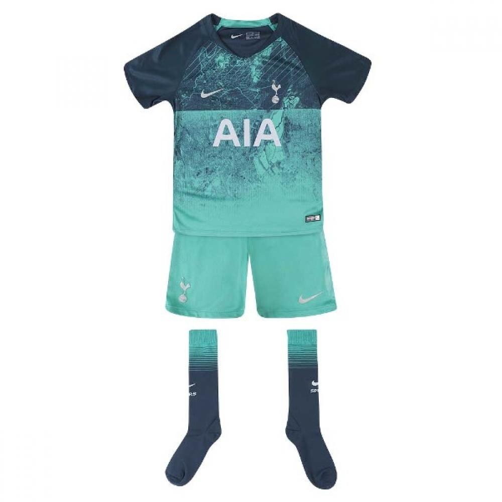 2018 2019 Tottenham Third Nike Little Boys Mini Kit 919313 371 Uksoccershop