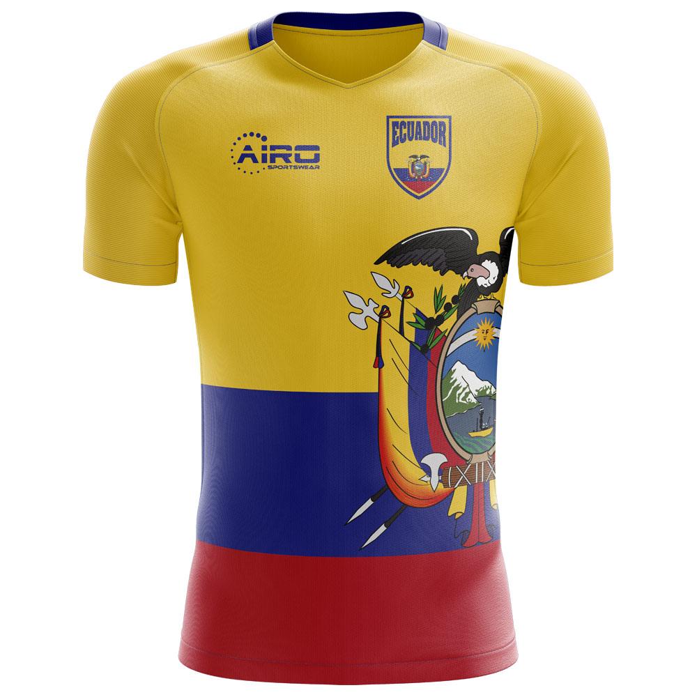 2018-2019 Ecuador Home Concept Football