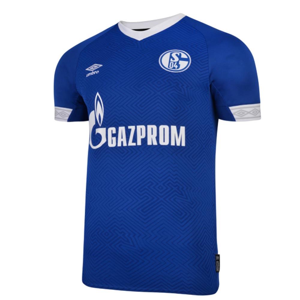 2018-2019 Schalke Umbro Home Football Shirt