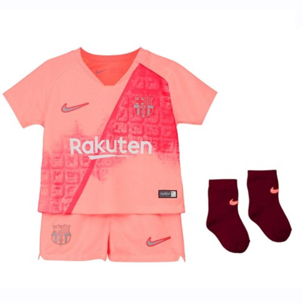 quality design b270f 91098 Nike Barcelona Baby SS Third Mini Kit 2018/19