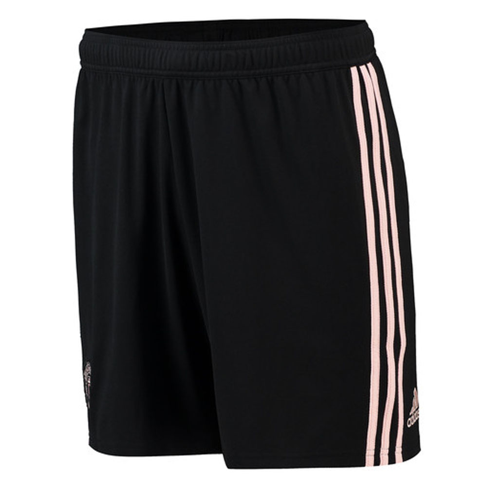 2018-2019 Man Utd Adidas Away Shorts (Black)