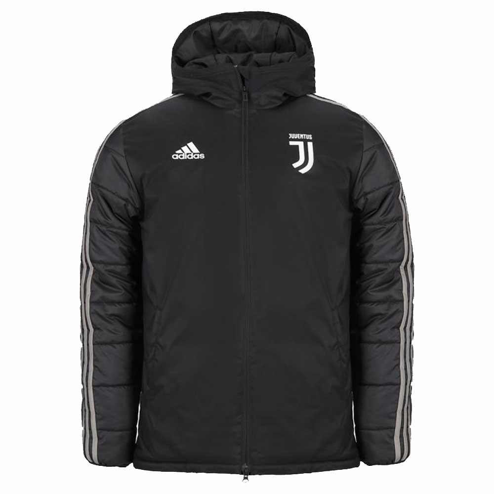 2018-2019 Juventus Adidas Winter Jacket (Black)