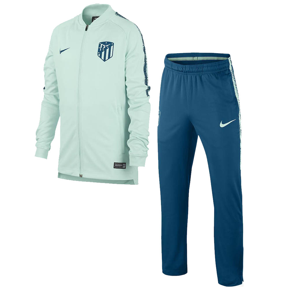 2018-2019 Atletico Madrid Nike Squad Knit Tracksuit (Igloo)