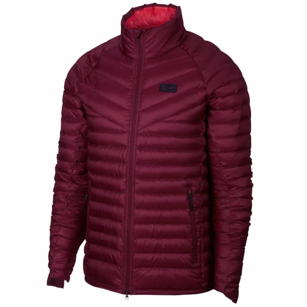 2018-2019 Barcelona Nike Down Fill Jacket (Deep Maroon)