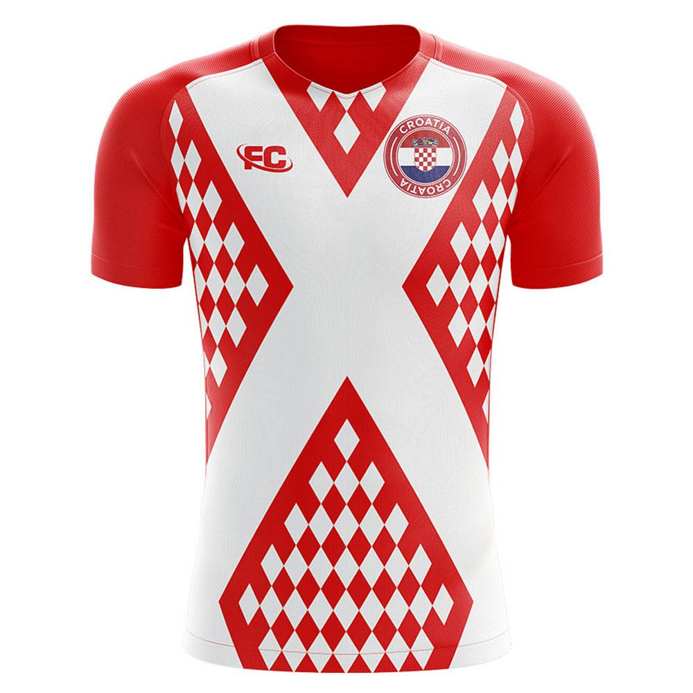 2018-2019 Croatia Fans Culture Home Concept Shirt  CROATIAHFC  -  Uksoccershop 7e2d6393a