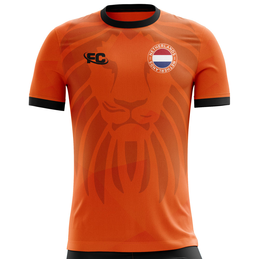 2018-2019 Holland Fans Culture Home Concept Shirt Fans Culture