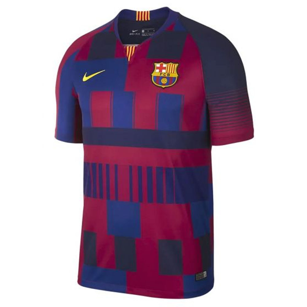 2018-2019 Barcelona Anniversary Nike Football Shirt Nike