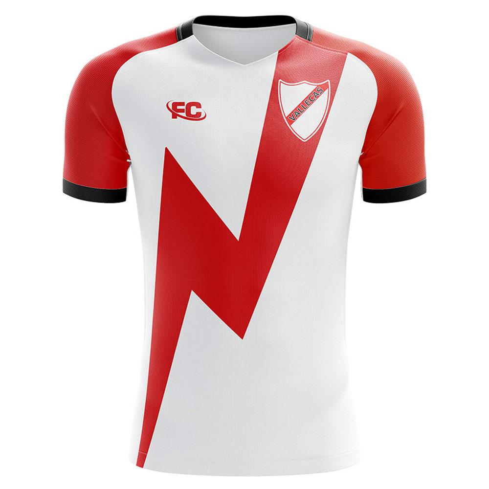 6c7bda731 2018-2019 Rayo Vallecano Fans Culture Home Concept Shirt [RAYOHFC] -  Uksoccershop