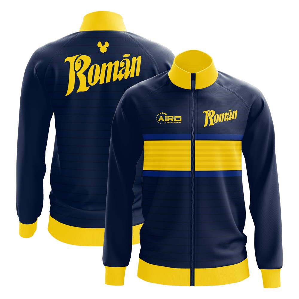 2020-2021 boca juniors juan roman riquelme concept track jacket