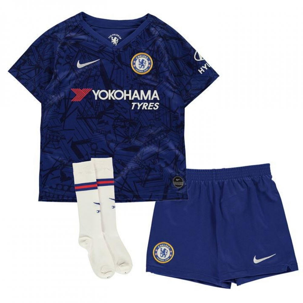 b5094f911 2019-2020 Chelsea Home Nike Little Boys Mini Kit [AO3050-495] - Uksoccershop