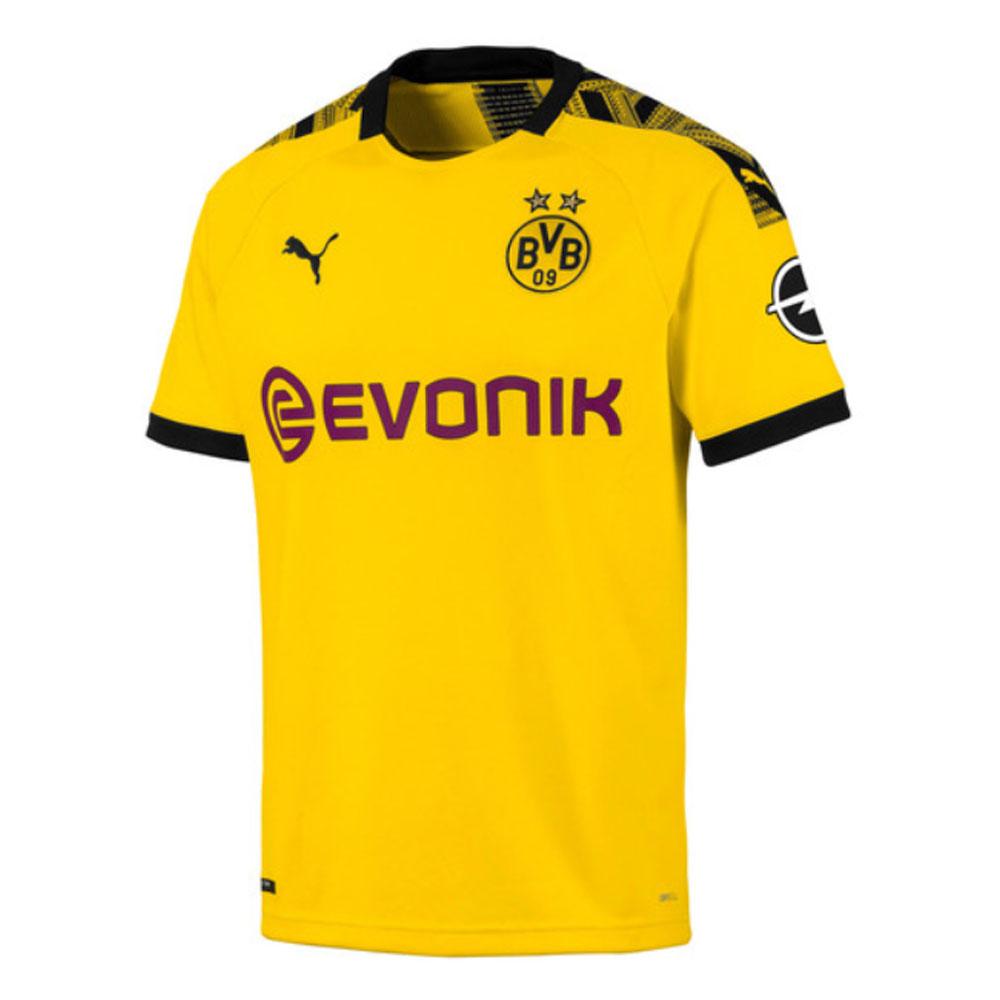 new product 9afdd 80669 2019-2020 Borussia Dortmund Puma Home Football Shirt