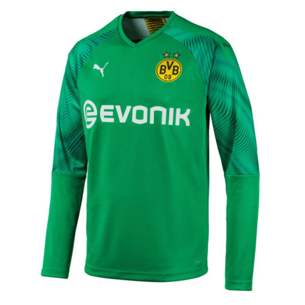 free shipping 8fc7f 11f45 Puma Borussia Dortmund Mens LS Goalkeeper Home Shirt 2019/20