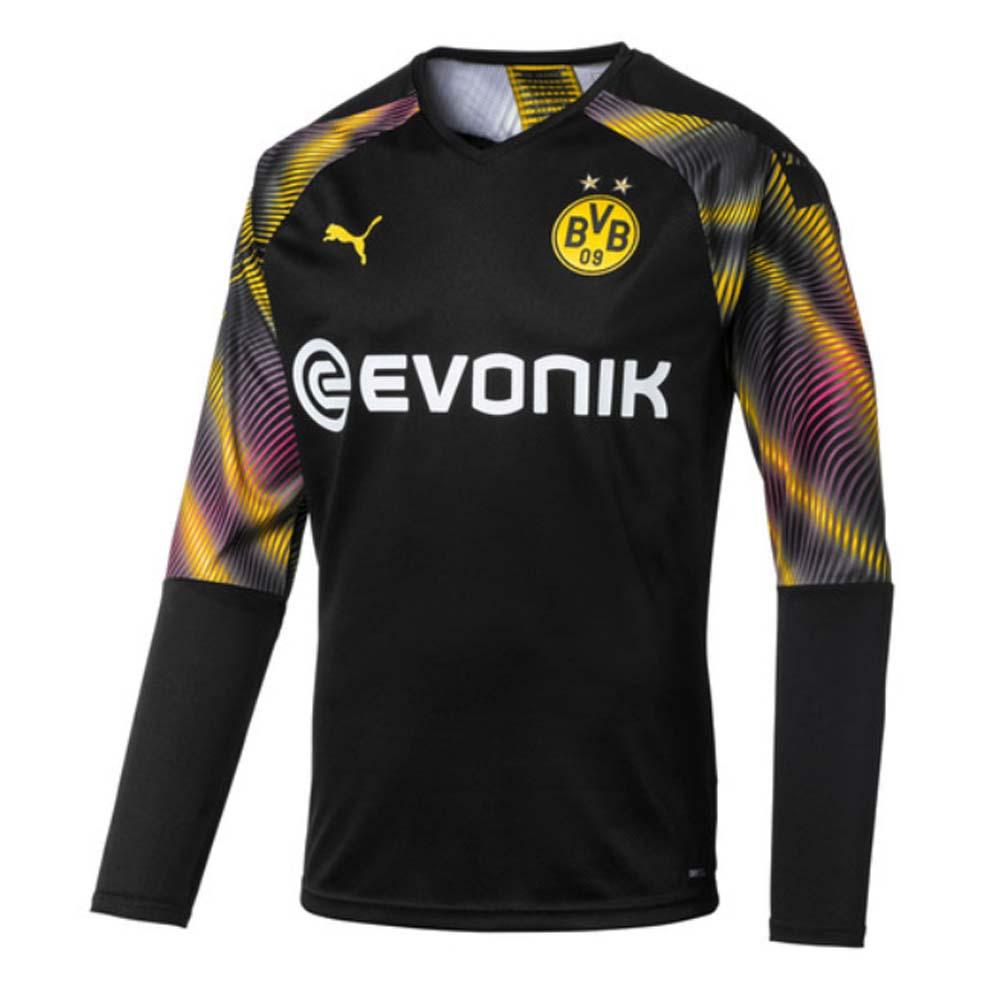 2019 2020 Borussia Dortmund Third Goalkeeper Shirt Black 75575305 Uksoccershop