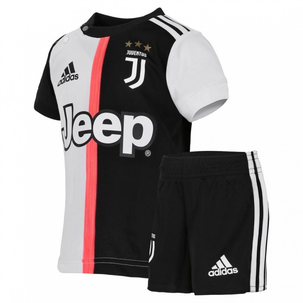 super popular def1d ace60 2019-2020 Juventus Adidas Home Baby Kit