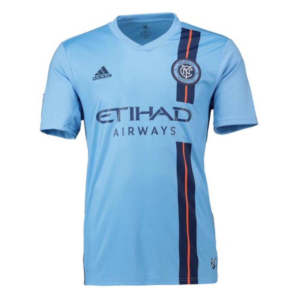 outlet store 167fc b4a50 2019 New York City Adidas Home Football Shirt