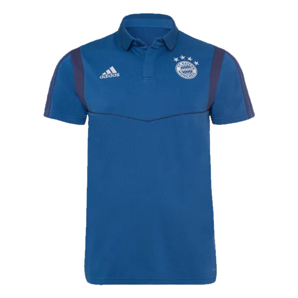 aquí ironía capacidad  2019-2020 Bayern Munich Adidas Cotton Polo Shirt (Night Marine) [DX9187] -  Uksoccershop