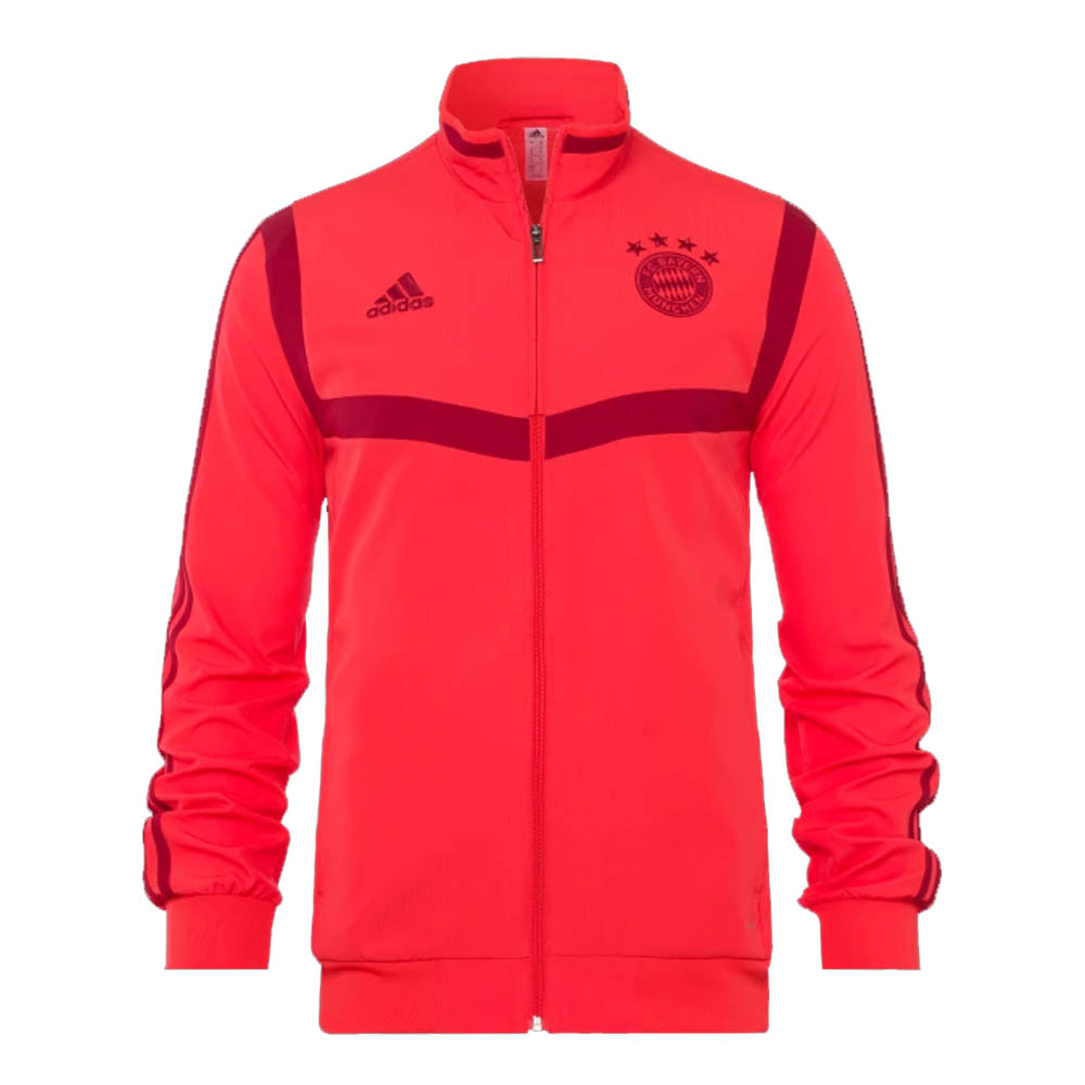 2019 2020 Bayern Munich Adidas Presentation Jacket (Red) Kids