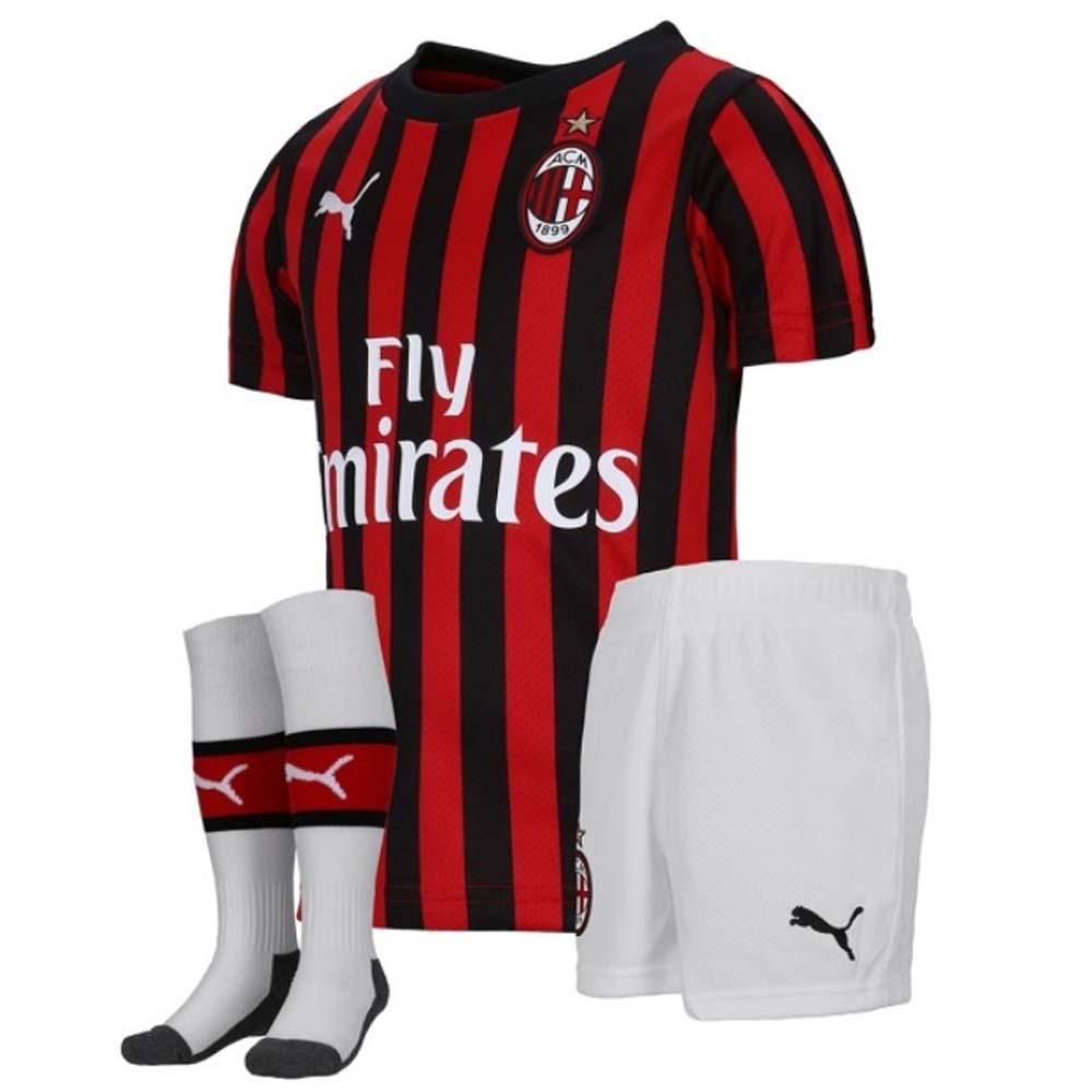 new arrival 6f496 2c54a 2019-2020 AC Milan Puma Home Mini Kit
