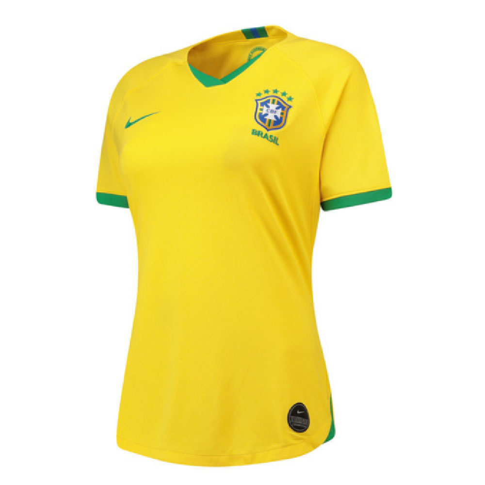 2019-2020 Brazil Home Nike Womens Shirt