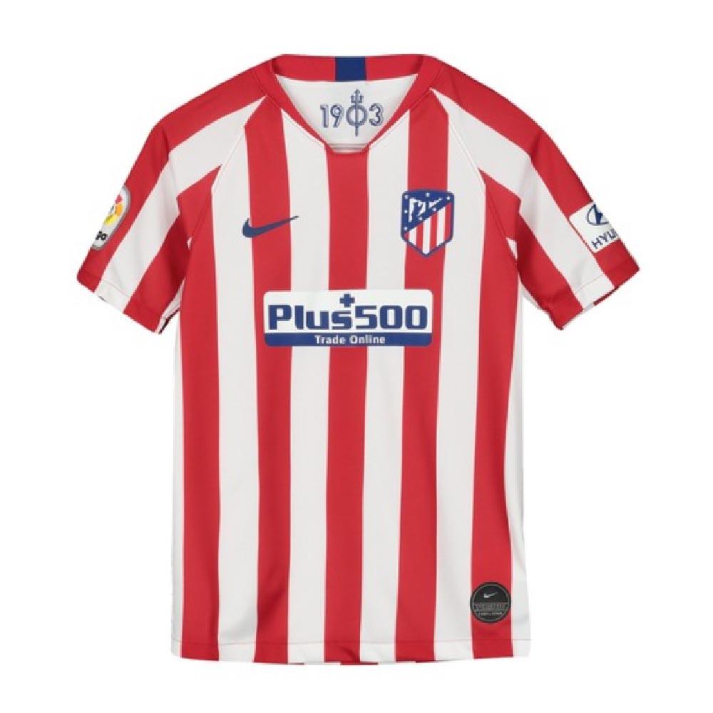 new products 03766 c8b0e 2019-2020 Atletico Madrid Home Nike Shirt (Kids)