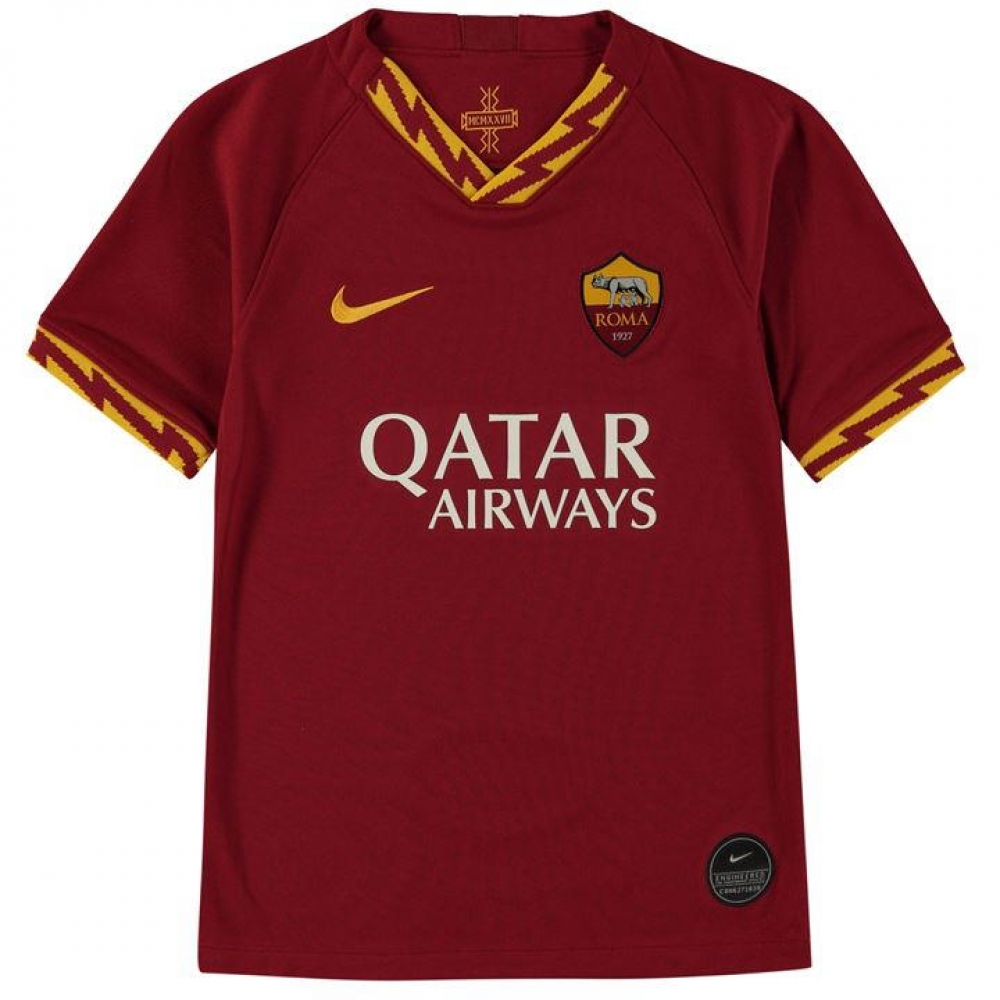 AS Roma Home Kids Football Kit