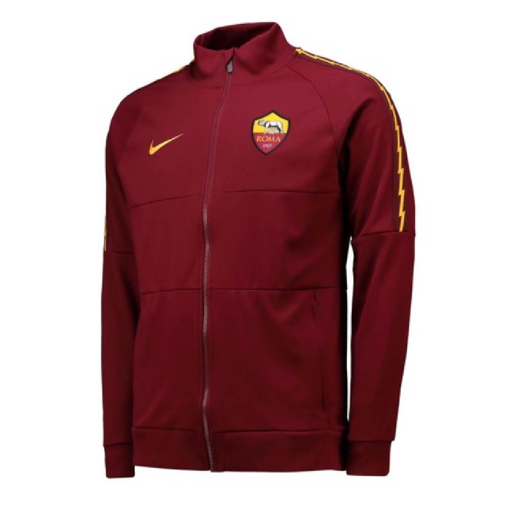 2019 2020 AS Roma Nike I96 Jacket (Red)