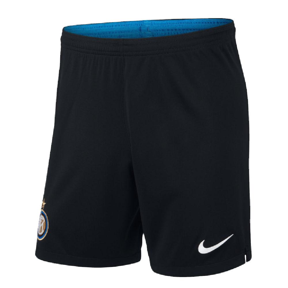 2019-2020 Inter Milan Nike Home Shorts (Black)
