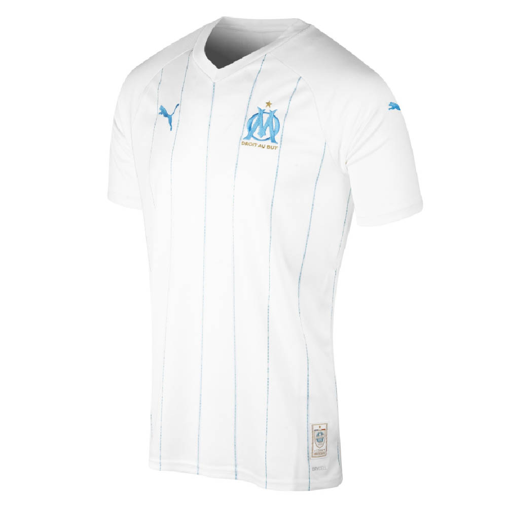 new product 10ab7 03870 2019-2020 Olympique Marseille Puma Home Football Shirt