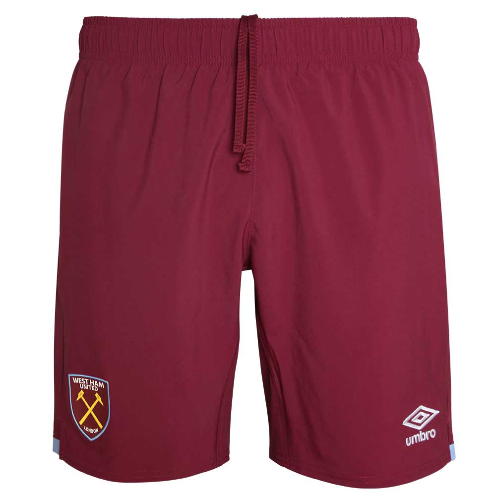 2019-2020 West Ham Home Football Shorts (Maroon)