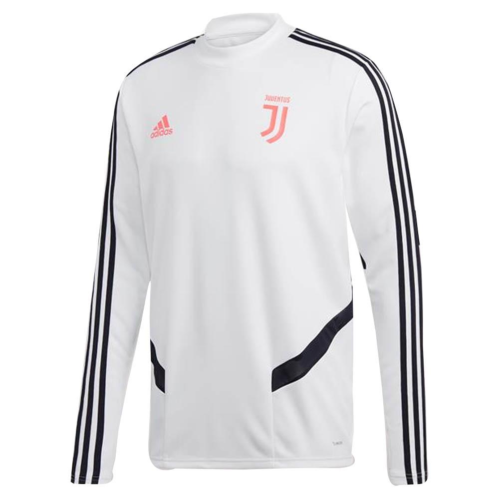 Trainings Sweatshirt Juventus adidas WARM TOP Mann 2019 Weiß Original
