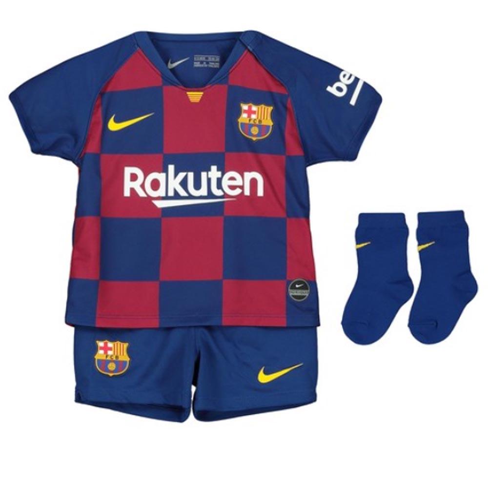 save off 47792 b75e4 2019-2020 Barcelona Home Nike Baby Kit