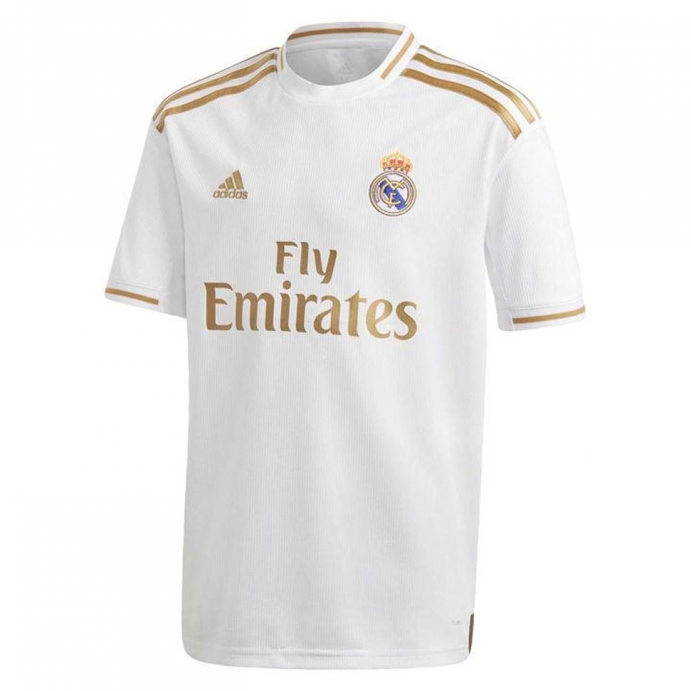 Men's adidas Vinícius Júnior White Real Madrid 201920 Home Authentic Player Jersey