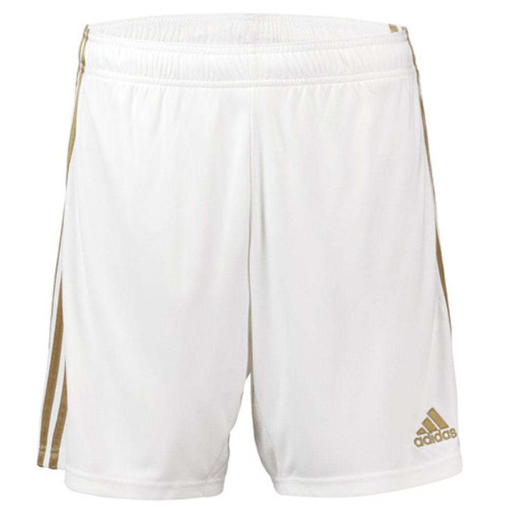 2019-2020 Real Madrid Adidas Home Shorts (White)
