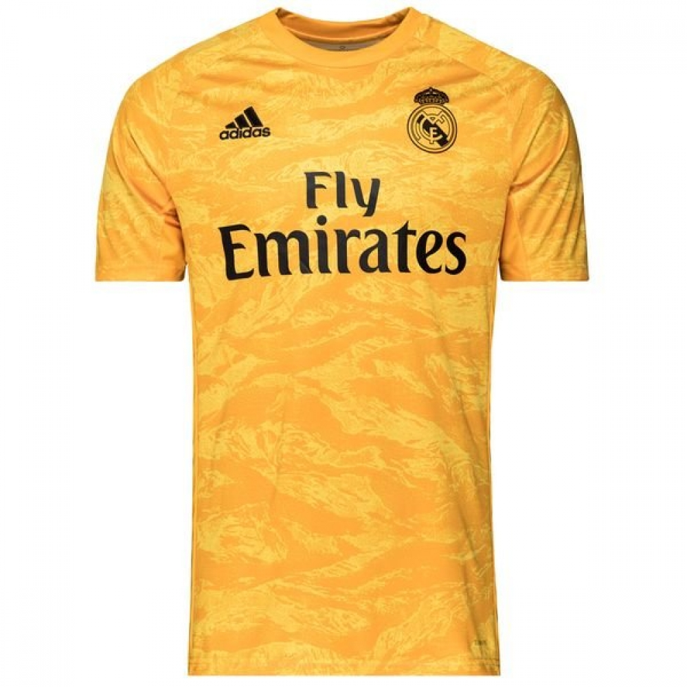 new arrival e4663 c8501 2019-2020 Real Madrid Adidas Home Goalkeeper Shirt