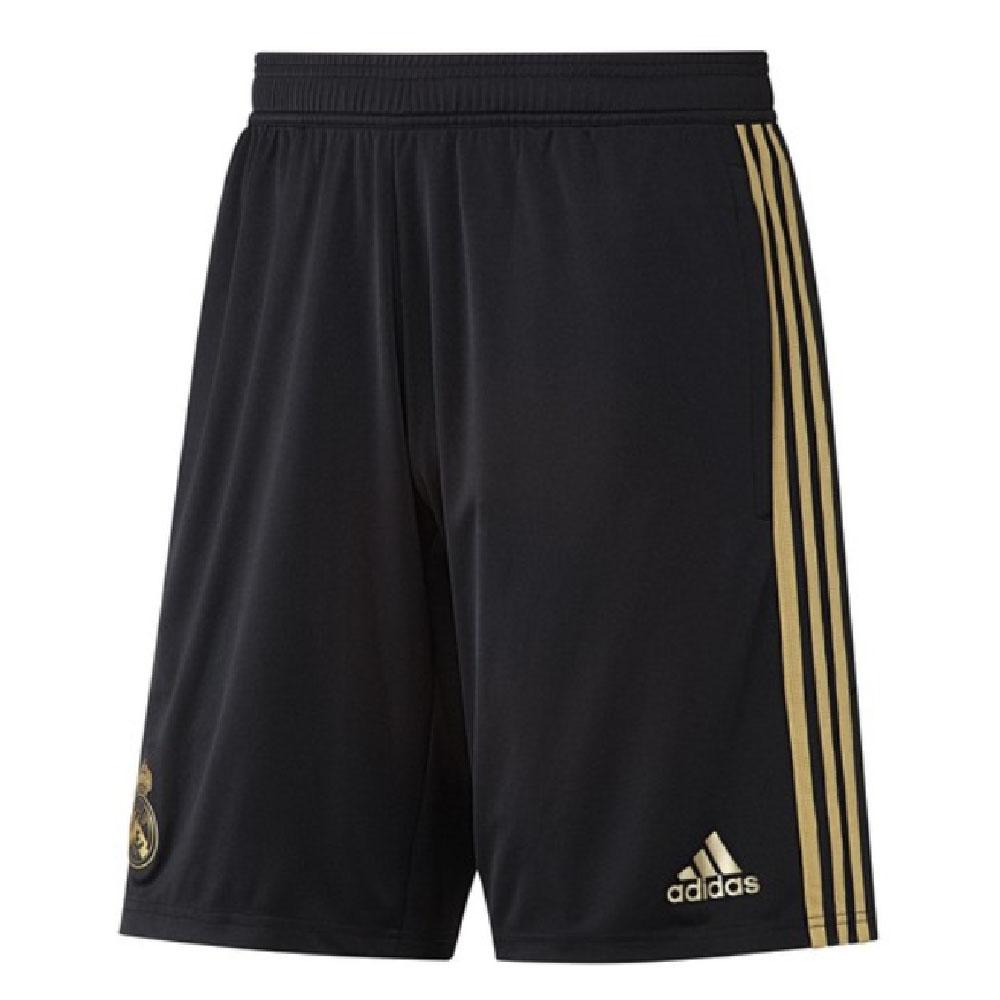 2019-2020 Real Madrid Adidas Training Shorts (Black)