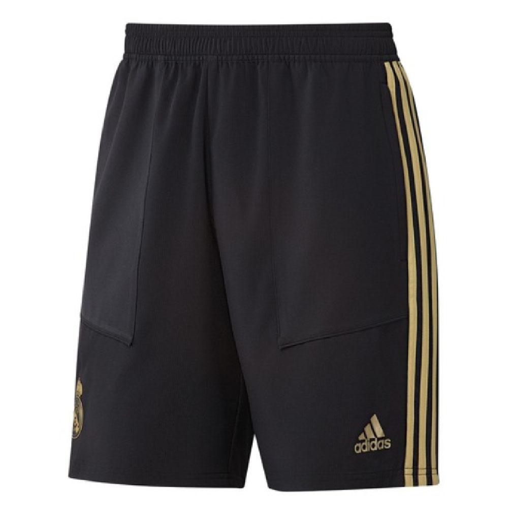 2019-2020 Real Madrid Adidas Training Woven Shorts (Black)