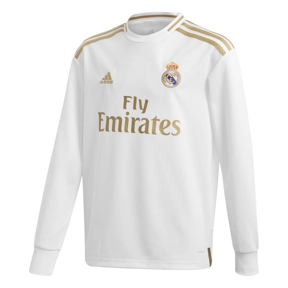 new products 6dd0f ab821 adidas Real Madrid Kids LS Home Shirt 2019/20